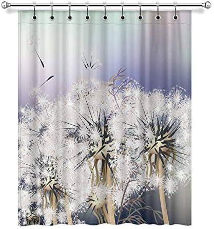 InterestPrint Elegant Dandelions Flowers Blackout Window Curtain Panels
