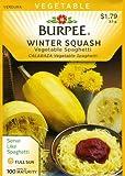 Burpee 64725 Squash, Winter Vegetable Spaghetti Seed Packet