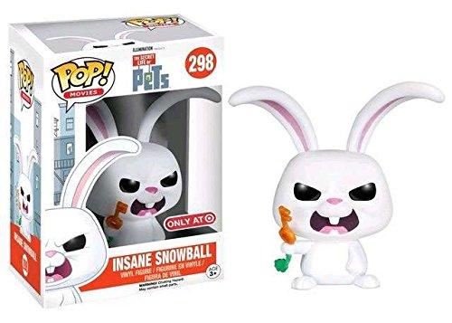 Funko POP! Movies Insane Snowball The Secret Life of Pets Exclusive #298