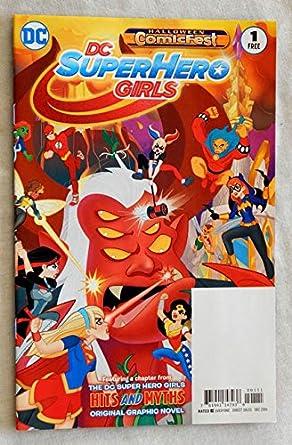 dc superhero girls 1 special edition comic book halloween comicfest 2016 dc comics 2016