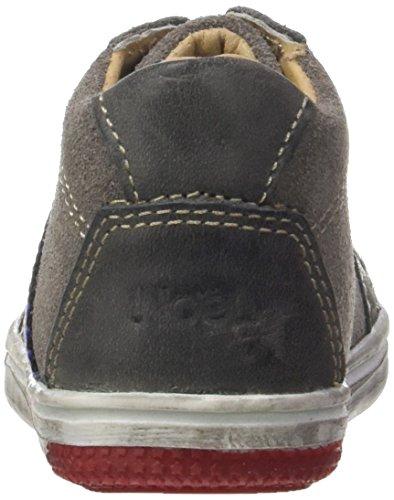 Noël Access Mini Maoro - Zapatos de primeros pasos Bebé-Niños gris (gris Foncé)