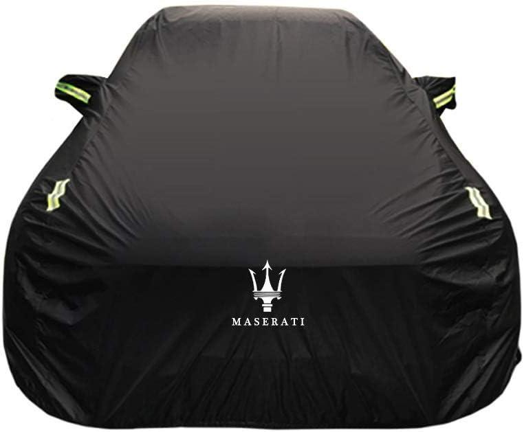 Cubierta de coche Maserati GranCabrio Cubierta de coche especial Ropa de coche Tela Oxford gruesa Protecci/ón solar Cubierta de lluvia Cubierta de tela de coche Cubierta de coche