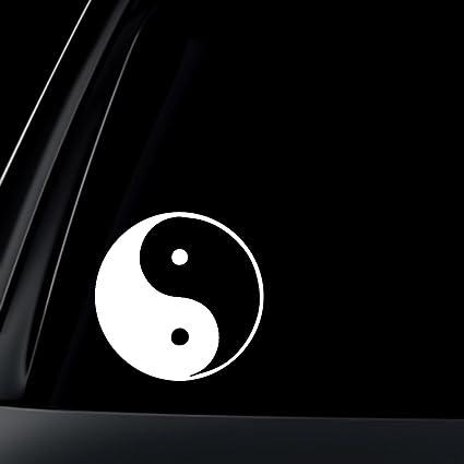 Amazon Yin Yang Symbol Car Decal Sticker Automotive