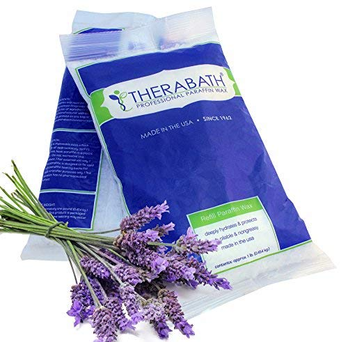 Therabath 0107 lavender scent paraffin wax refill with heat retaining capacity
