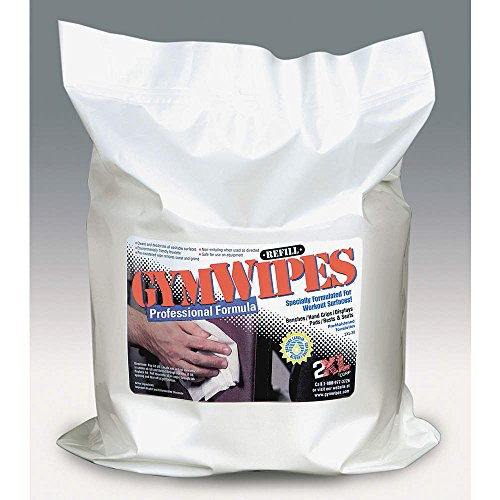 Gym Equipment Wipes Refill, 8″ x 7″, 700 Wipes