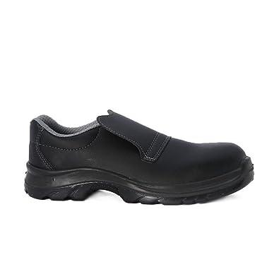 Chaussure De Sécurité Cuisine Noire Mocassin Amazonfr Chaussures