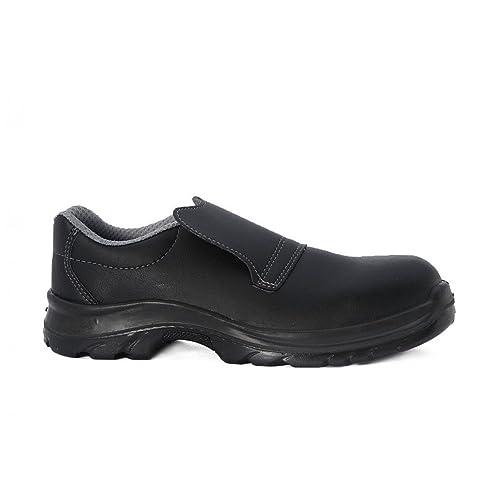 livraison gratuite 61131 20672 Chaussure de sécurité cuisine noire mocassin: Amazon.fr ...