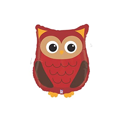 "Woodland Owl Critter 26"" Mylar Balloon: Kitchen & Dining"