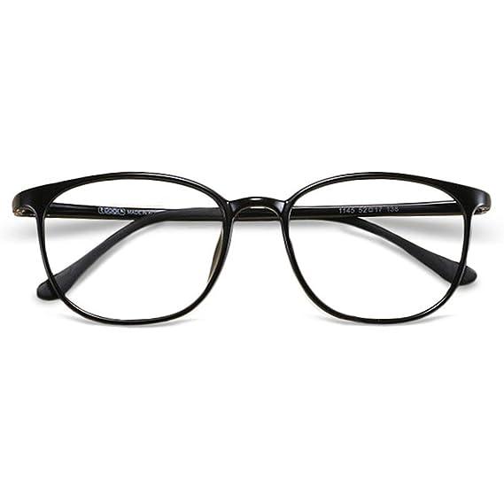 d8e80ad951 VEVESMUNDO Vintage Eyeglasses Women Men Flexible Lightweight Frame Large Round  Lens with Hard Eyewear Glasses Case