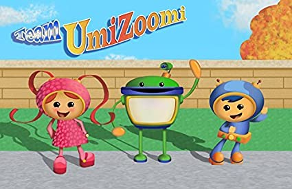 Amazon Team Umizoomi Umicity Party 1 4 Sheet Edible Photo