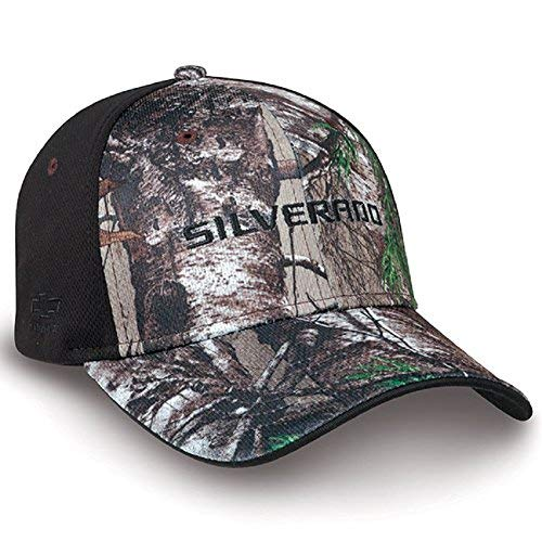 - Chevy Silverado Realtree Hardwoods APX Camo Black Hat
