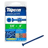 TW Brands Tapcon 24397 1/4x4 Concrete Anchor-25Pack