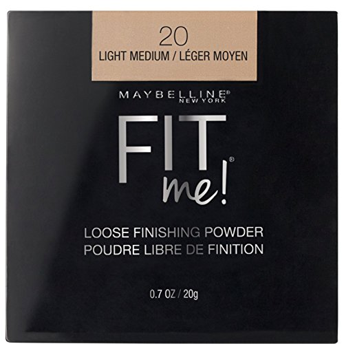 (Maybelline Fit Me Loose Finishing Powder, Light Medium, 0.7 oz. )