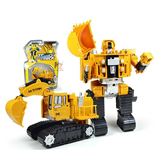 Bovillo 3c Yellow Alloy with ABS Crane Model Car Gift for Kids