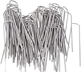 AAGUT 200 Pack 6 Inch Garden Stakes Galvanized