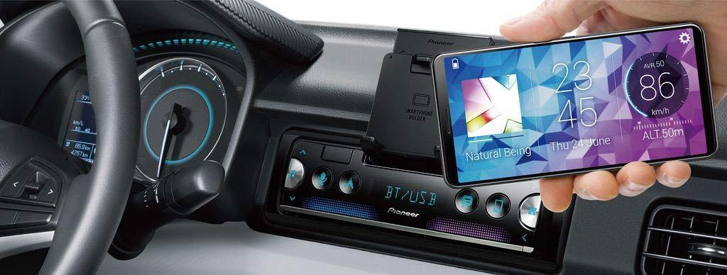 iPhone JUST SOUND best choice for caraudio 4x50Watt Einbauzubeh/ör Android Autoradio Radio Pioneer SPH-10BT Spotify Smartphone Empf/änger mit Bluetooth Einbauset f/ür VW Bus T4