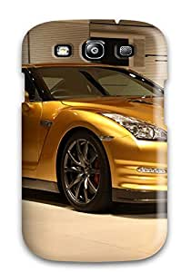 Cute Appearance Cover/tpu GIjaTFO6818XagrD Gold Gt-r Case For Galaxy S3