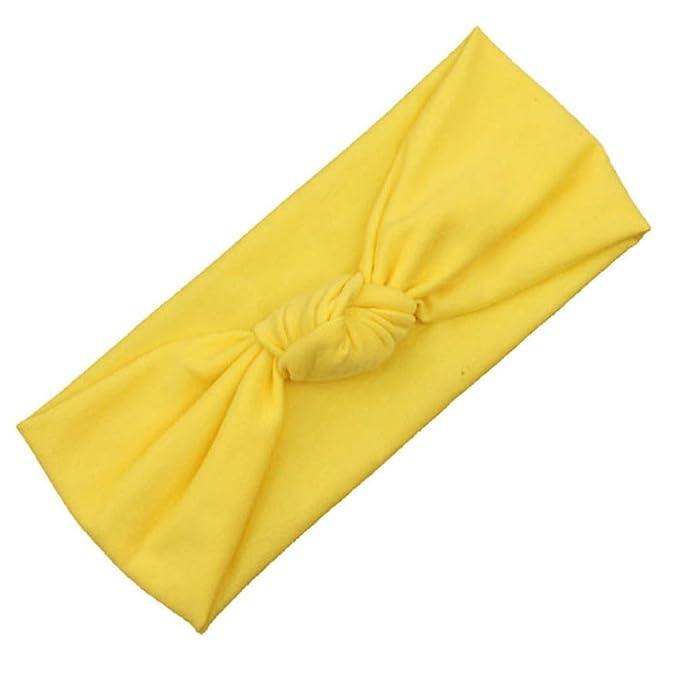 Stirnband erthome Haarband Elastizit/ät waschen Gold Baby M/ädchen Stirnband Haar-Accessoire