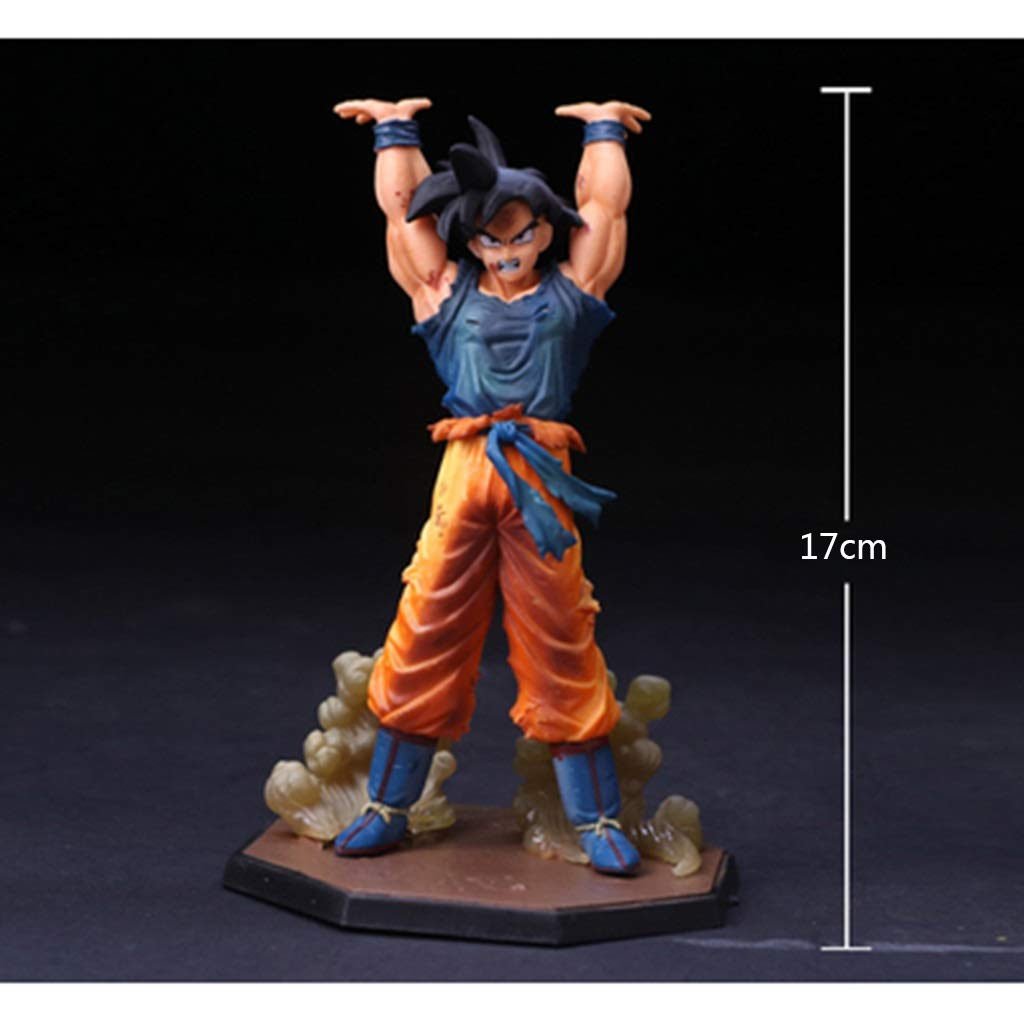 G Yuanyuanliu Dragon Ball Animation Toy Model Anime Cartoon Game Character Model Statue Souvenir Collection Crafts (color   L)