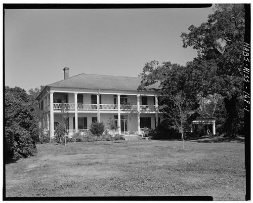 HistoricalFindings Photo: Grass Lawn,720 East Beach Boulevard,Gulfport,Harrison County,Mississippi,MS