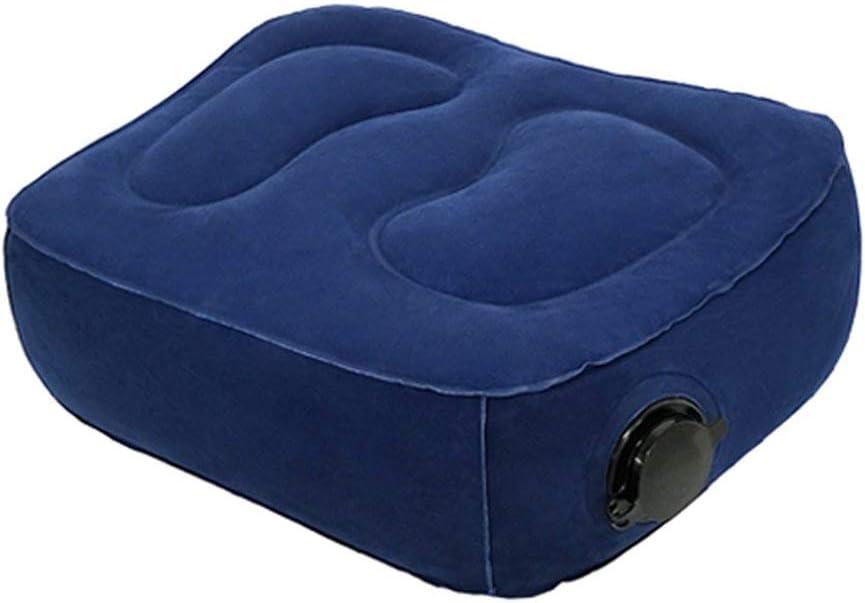 voiture 1 layer bleu train Repose-pieds gonflable multifonction hauteur r/églable pour les enfants pour dormir coussin de soutien des jambes pour avion