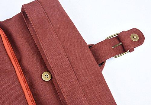toile pure simple à filles les sacs Himifashion l'école Red sacs gros couleur dos d'école femmes FwvBZTqx8q