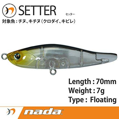 nada(ナダ) nada.(ナダ)SETTER(セッター) クリアナダ 35315の商品画像