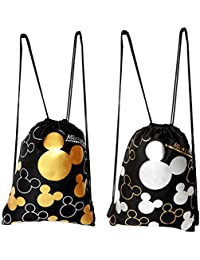 Mickey Mouse Drawstring Backpack 2 Pack