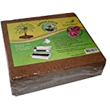 Compressed Coconut Coir Brick, 10 Pound (lb)-Green Texan Organic Farms