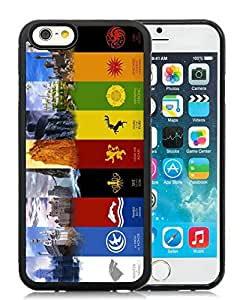 Customized game of thrones iPhone 6 4.7 Inch TPU Case in Black