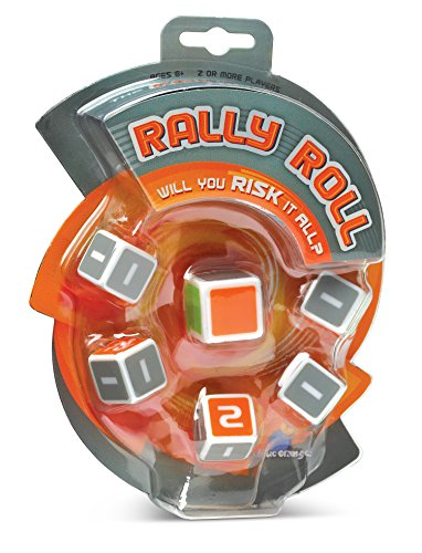 Blue Orange Games Rally Roll Push Your Luck Dice Game for ()