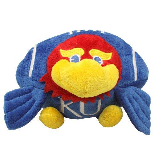 Fabrique Innovations NCAA Orbiez Plush Toy , Kansas Jayhawks (Ncaa Stuffed Animals)