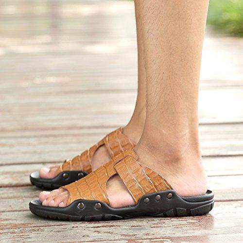 Nuevo Zapatos Verano Hombre Estilo Brown De Zapatos Zapatillas sandals Sandalias Y SwdFHS
