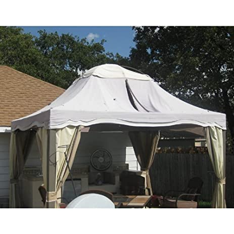 10 X 12 Dome Gazebo Replacement Canopy