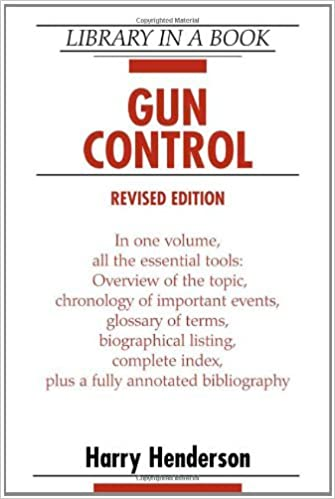 gun control annotated bibliography