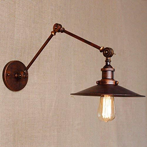 Mariisay Lampada da parete Sconce Retro lampada da parete per esterni da esterno in ferro (Colore   Colour-Dimensione)