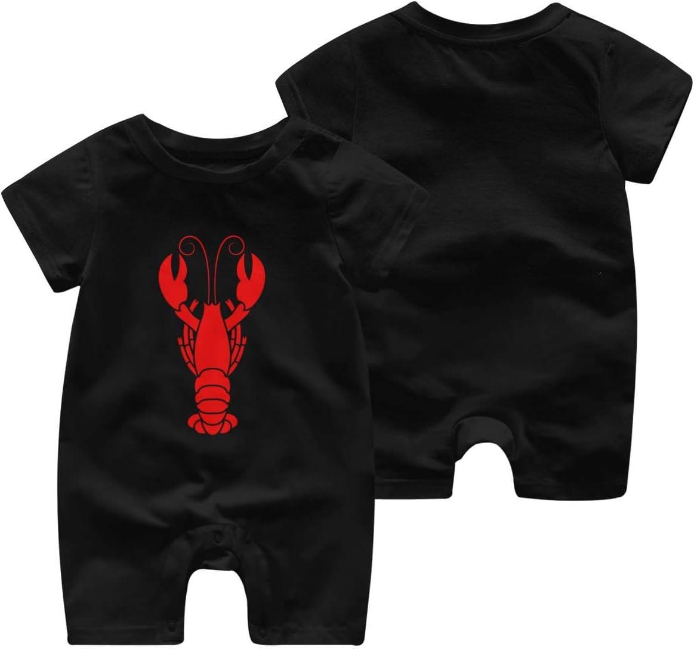 Baby Bodysuit Jumpsuit Lobster Pajamas One-Piece Rompers