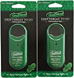2 pack Mystical Mint Oral Throat Spray To-Go Set by GoodHead