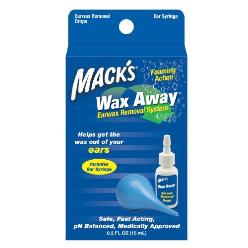 Mack's Wax Away Earwax Removal System 1 ea Pack of 3