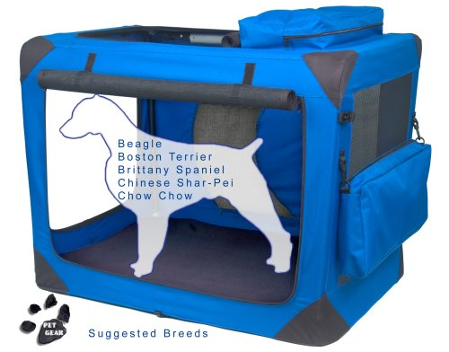 Deluxe Soft Pet Crate - 1
