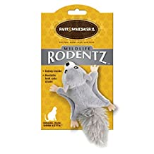 Ruff & Whiskerz Rodentz Squirrel Catnip Cat Toy