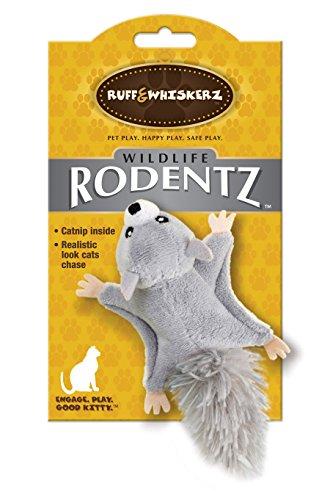Ruff & Whiskerz Rodentz Squirrel Catnip Cat Toy