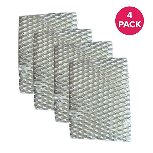 4 Premium ReliOn WF813 2-Pack Humidifier Wicking Filters, Fits ReliOn RCM832 (RCM-832) RCM-832N, DH-832 and DH-830 Humidifers, Compare To Part # WF813, by Think Crucial ()