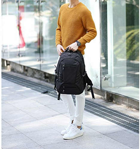 purpose Backpack Travel Leisure Grey Business Multi Shoulder Laidaye qBnwZT1w