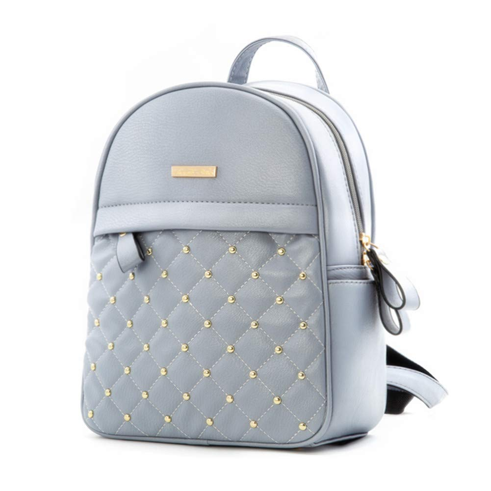 Cute Mini Leather Backpack Fashion Small Daypacks Purse for Teen Girls and Women Red