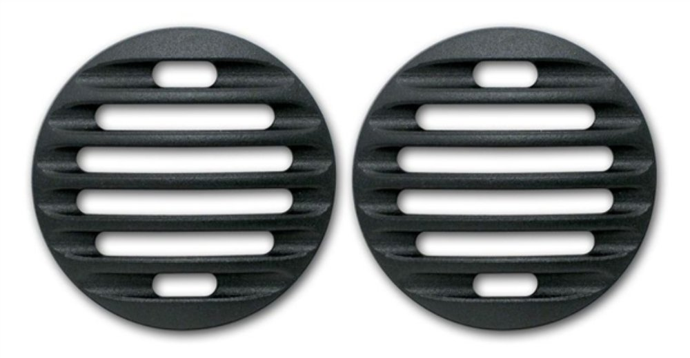 Pirate Mfg FJ0003SB 2007-14 Toyota FJ Cruiser Black Billet Marker Light Guards Pirate Mfg-FJ