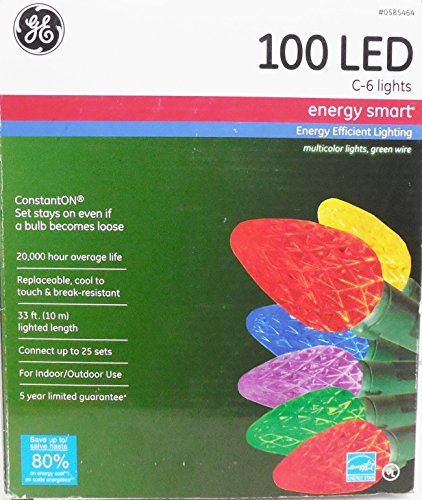 Ge 100 Led C6 Lights in US - 9