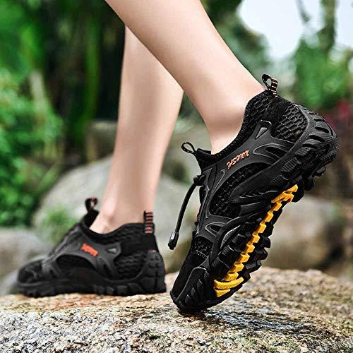 Scarpe Creek Nero Da Non Sportive Trekking Ihaza Respirabile Uomo All'aperto slip Shoes 7fqwnd