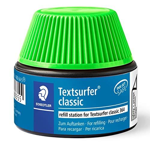 Staedtler 488 64-5 Textsurfer Classic Marker Pen 15-20 Refills for 364 Green