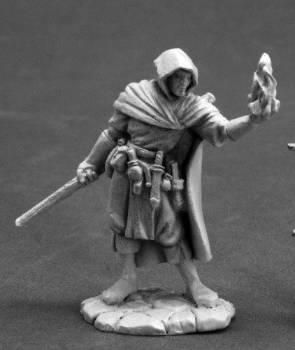 (Ellus Mann, Wizard Dark Heaven Legends Miniature)